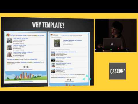 CSSConf Oakland 2014 | Jennifer Wong: Tonight We're Gonna Code Like It's 1999: Responsive Emails