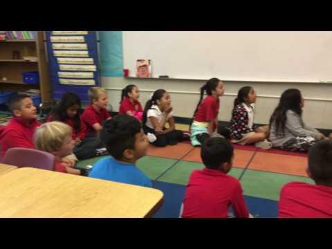 Bilingual sing-along Manzanita Seed Elementary School