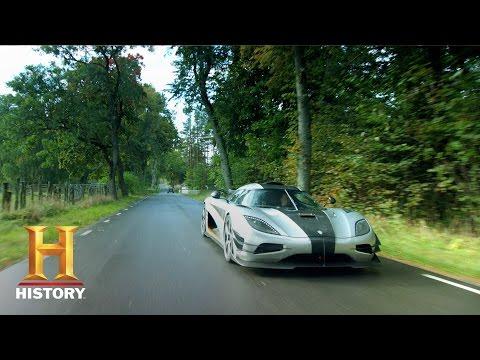 Top Gear: Tanner Test-Drives a Koenigsegg Hypercar (S8, E2) | History