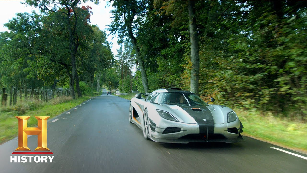 Top Gear Tanner Test Drives A Koenigsegg Hypercar