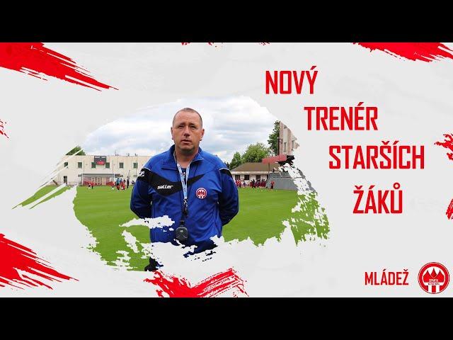 Daniel Tichý - Nový trenér starších žáků