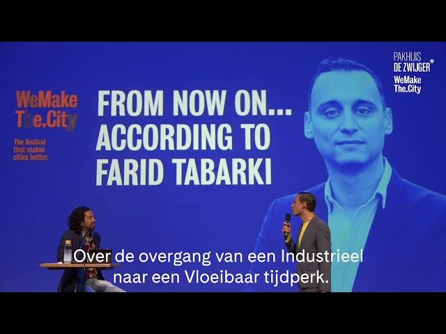 Farid Tabarki x Speakers NL