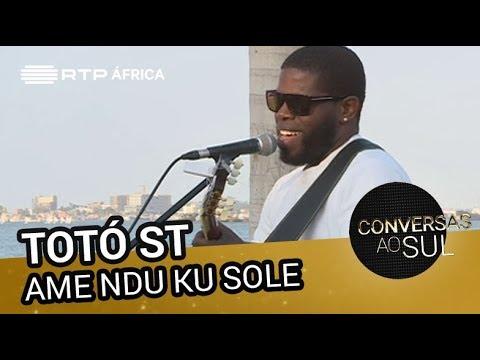 Totó ST - Ame Ndu Ku Sole | Conversas ao Sul | RTP África