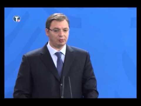 Aleksandar  Vučić u Nemačkoj