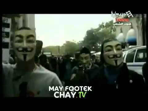 Anonymous Tunisie sur HannibalTV   YouTube
