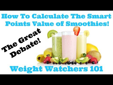 how-to-calculate-the-smart-points-value-of-smoothies!-|-weight-watchers-101