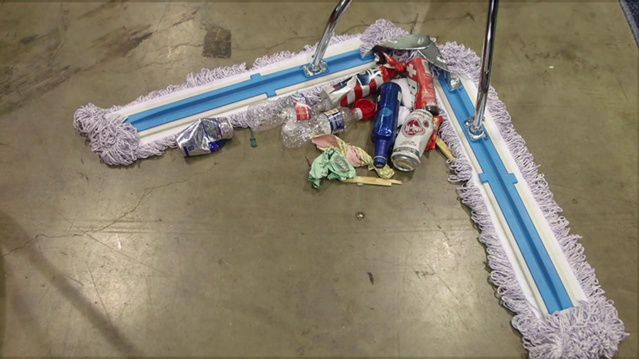 Filmop® V-Sweeper® Floor Dusting Demonstration