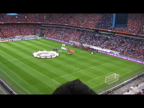 Holland V England @ Ajax Stadium Amsterdam 12-08-09  National Anthems