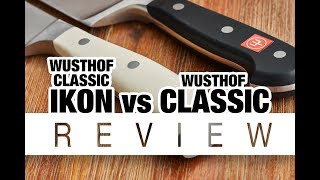 Wusthof Classic Ikon vs Classic: Which One to Buy?