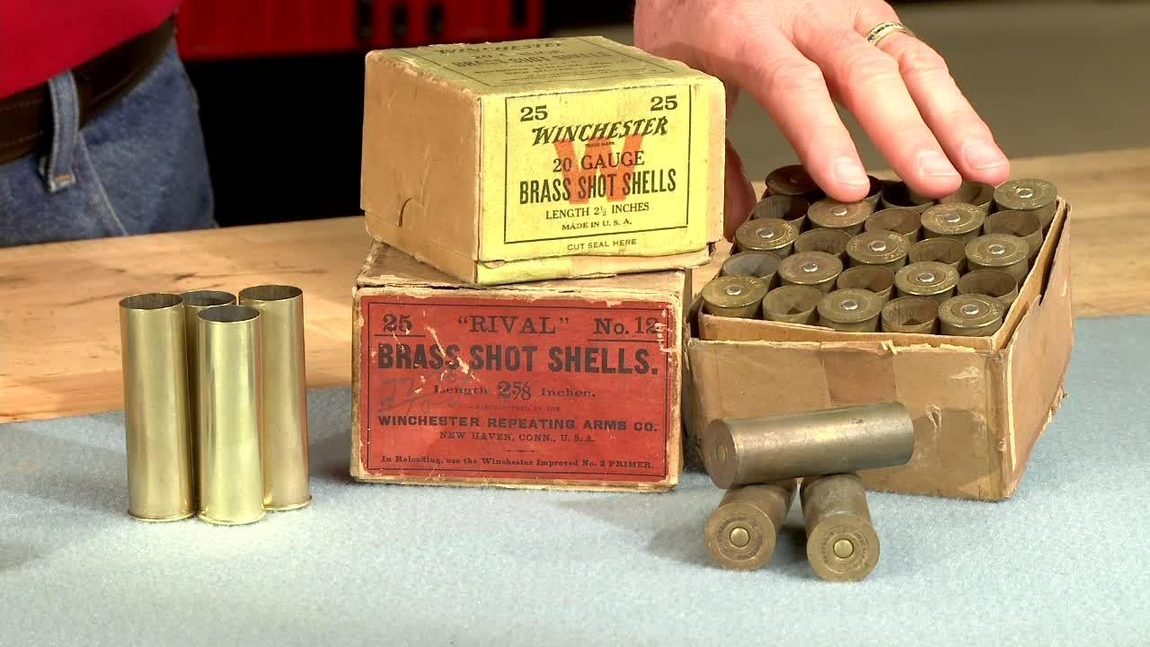 Image result for brass shotgun shells