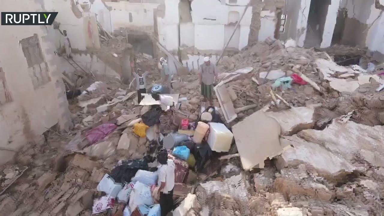 أمطار غزيرة تلحق أضرارا جسيمة بمدينة تريم اليمنية التاريخية  - نشر قبل 27 دقيقة