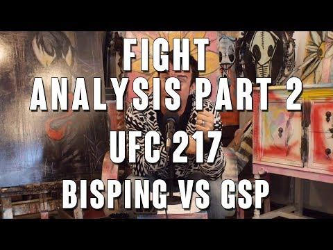 UFC 217 Fight Analysis: Michael Bisping vs Georges St-Pierre Part 2