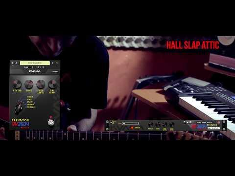 Efektor RV3604 Reverb: Funky Slap Hall Solo