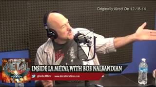 INSIDE METAL TradioV w  Guest MMA Commentator   SNOW drummer Stephen Quadros - April 7  2015