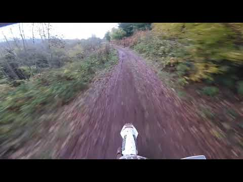WALES and west enduro rd7 2018 1st lap and crashes/fails at end super vet