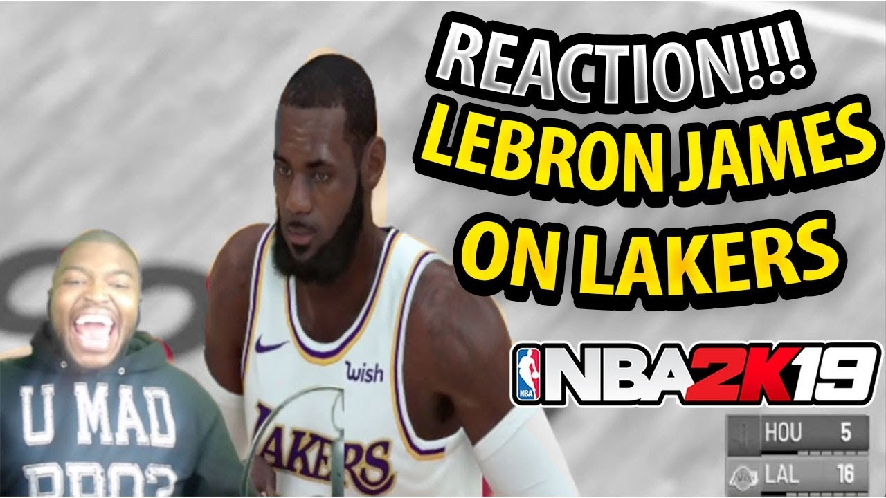 41862e3cd94 NBA 2K19 Online Gameplay! PLAYING WITH LEBRON JAMES IN A LOS ANGELES LAKERS  FOR THE FIRST TIME!