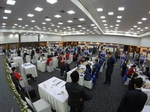 Start of the final round of World Youth Olympiad 2017 with commentary!