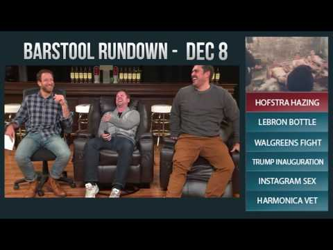 Barstool Rundown - December 8, 2016
