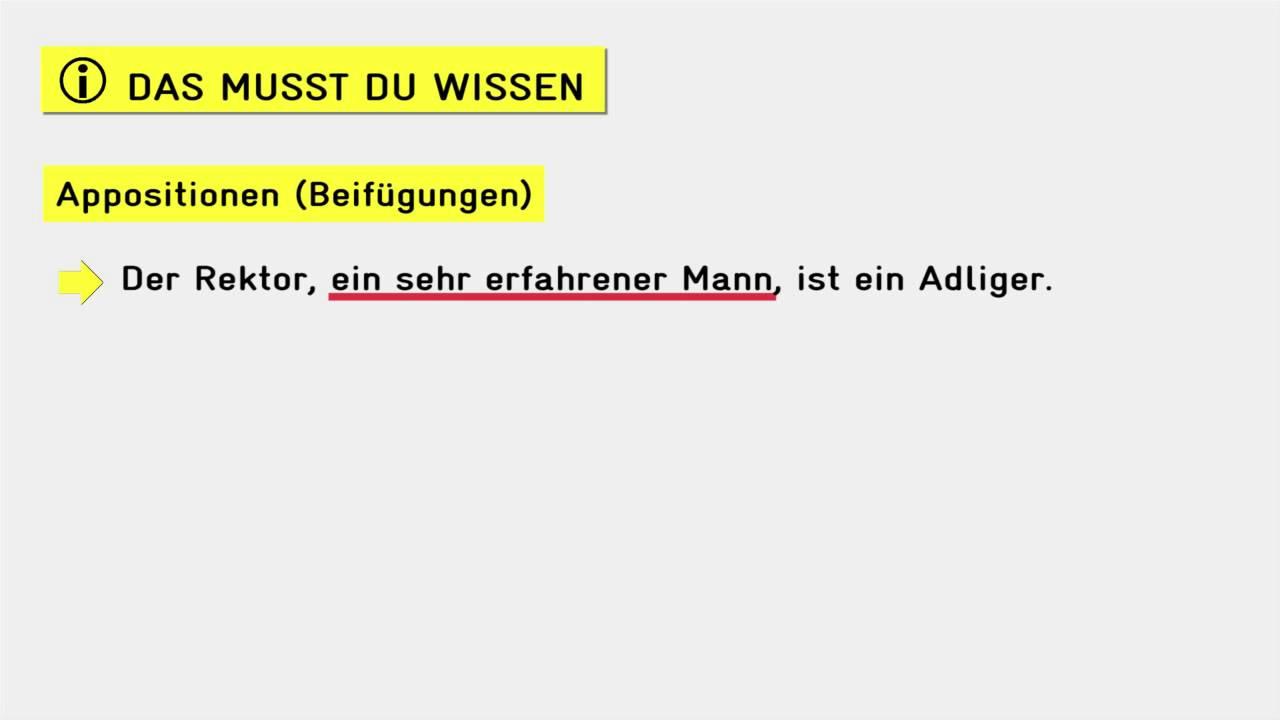 Die Sache Mit Der Apposition Deutschmeisterei De 7