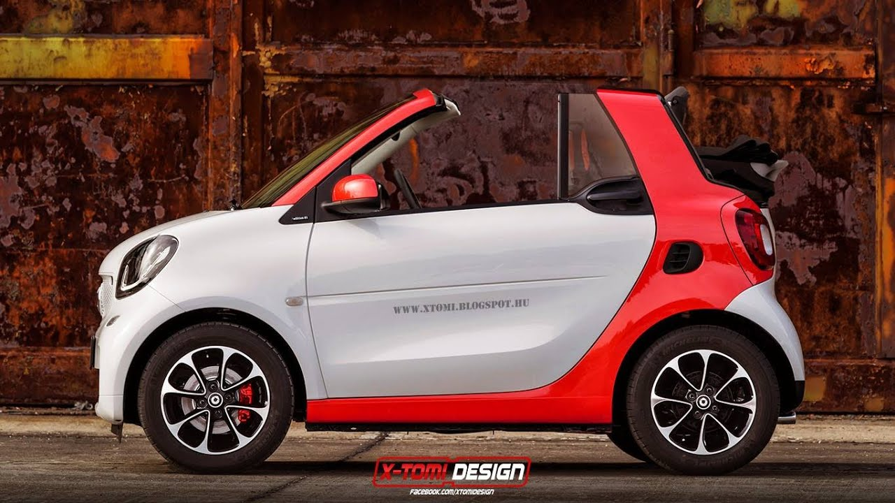 2017 smart fortwo cabriolet debuts part 2 youtube rh youtube com
