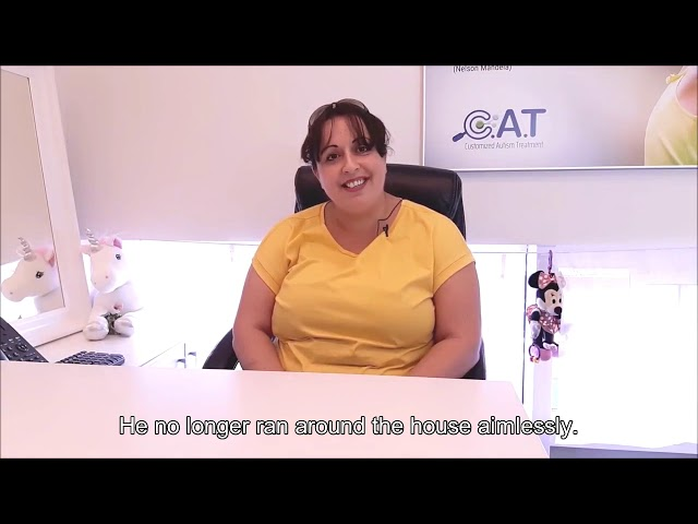 Testimonial: mother of a 3-year-old boy
