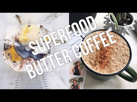 HOW TO MAKE BUTTER COFFEE | Why It's Good For Hormones + Superfood Add-ons