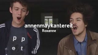 Gambar cover Roxanne (Cover) - AnnenMayKantereit & Milky Chance