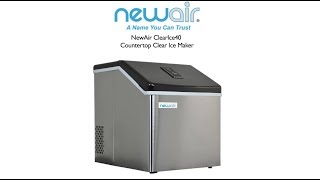 Newair Clear Ice 40 Ice Maker Review | Drinks Made Easy