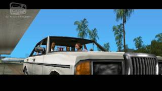 GTA Vice City - Intro & Mission #1 - In the beginning... (HD)