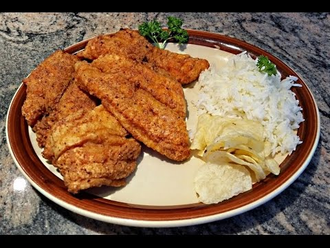 Deep Fried Swai Fish |