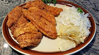 "Deep Fried Swai Fish | ""s-why"" Fish Fillet Recipe"