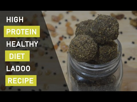 Healthy Diet Recipe | High Protein Ladoo Recipe | Weightloss | Testy | Nutrition Laddu |HEALTH TUBER