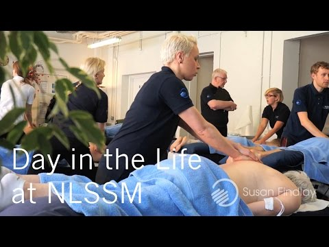 A Day in the Life at NLSSM, The North London School of Sports Massage