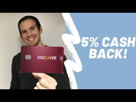 Discover It Credit Card Review | 5% CASH BACK CARD!