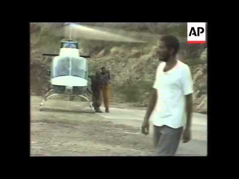 MONTSERRAT: PEOPLE EVACUATED FROM VOLCANO STRICKEN ISLAND