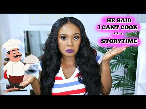HE SAID I CAN'T COOK | STORYTIME + INSTALLING MY FIRST U PART WIG FROM ALIMICE HAIR | OMABELLETV