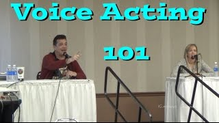 Voice Acting 101 - Anime Fusion 2015