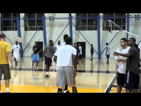 NBA Players In Open Run @ Pyramid