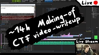 [Live] Making-of a LiveOverflow CTF video write-up 2019 (35c3ctf)