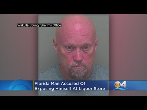 Florida Man Tells Woman: 'Hey, Look At This' & Pulls Out