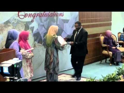 د.احمد حمزة عثمان احمد الاقرع -السودان Best Postgraduate Student Award UTM 2013