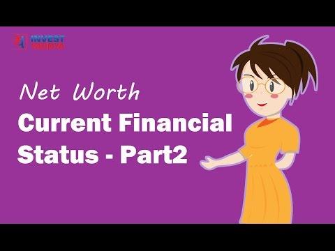 Understanding your current financial status - Net Worth Statement | Financial Planning Series