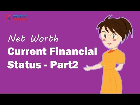 Understanding your current financial status – Net Worth Statement | Financial Planning Series