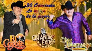 Chuy Lizarraga y El Coyote || 30 Canciones Lo mejor de lo mejor - Mix Para Pistear ❤️