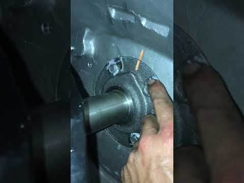 1995 Cummins swap GM to Dodge NV4500 input shaft conversion
