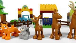 LEGO DUPLO - 10584 Ліс: парк(Відправляйтеся з Вашою дитиною у мандрівку лісом LEGO® DUPLO®. Це сімейна подорож машиною з мамою, татом і дитин..., 2015-07-03T11:07:18.000Z)