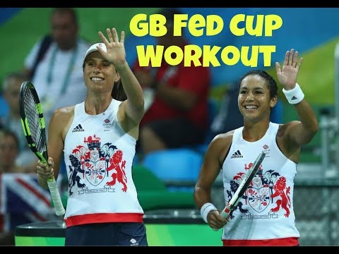 GB Fed Cup Tennis Team Go-To Exercises