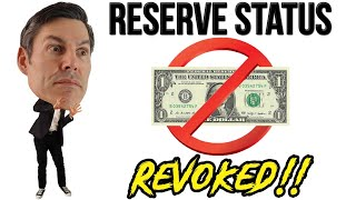Dollar Reserve Currency Status END GAME! (Part 1)