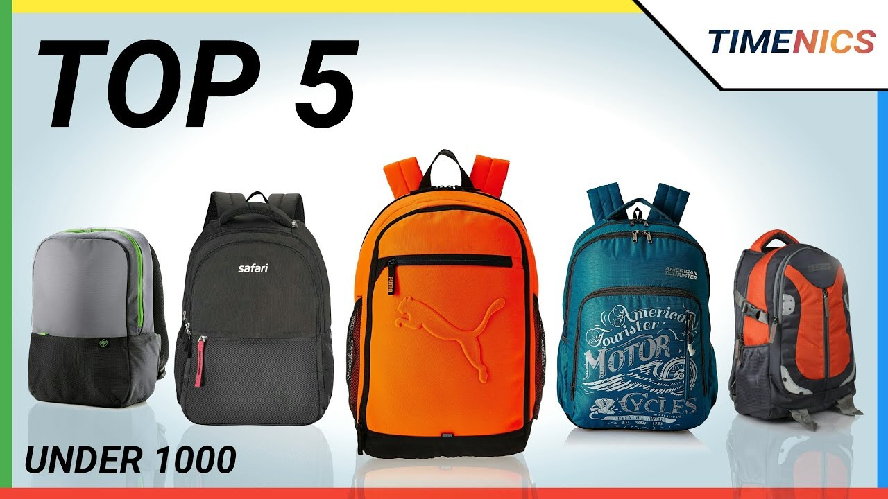 8192e652bc3e Top 5 Best Backpacks Under 1000 In India 2018 - YouTube