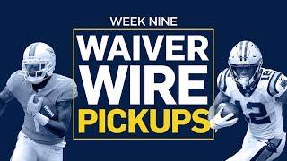 Week 9 Waiver Wire Pickups (Fantasy Football)